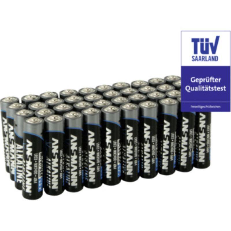 Alkaline AAA Batterien 40er Pack