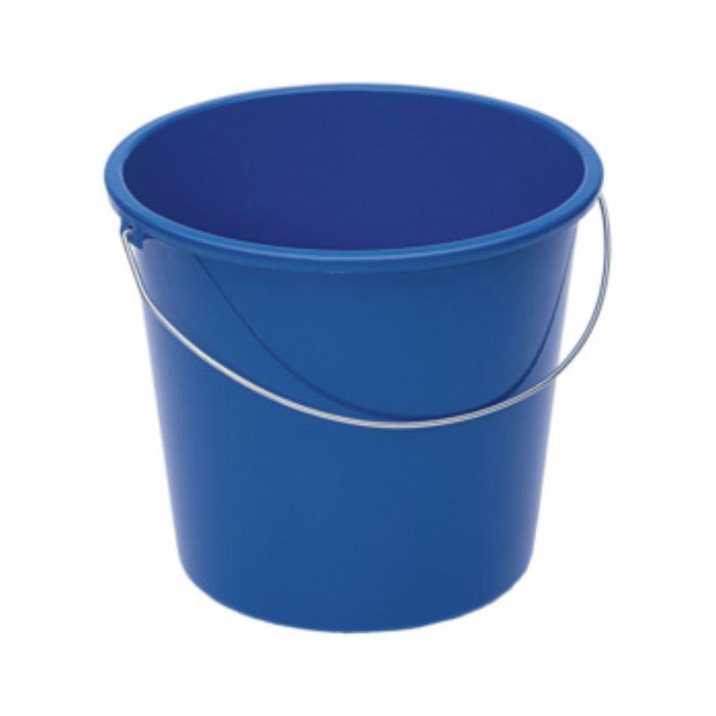 Haushaltseimer Kunststoff blau 10 l