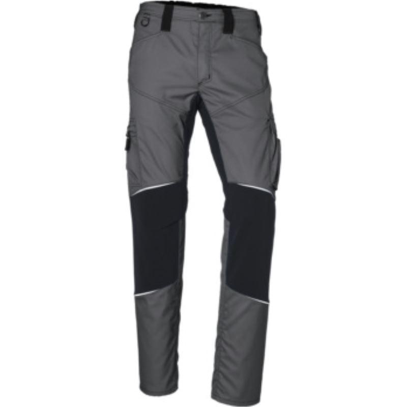 Kübler ACTIVIQ Herrenstretchbundhose, anthrazit/schwarz, Größe 54