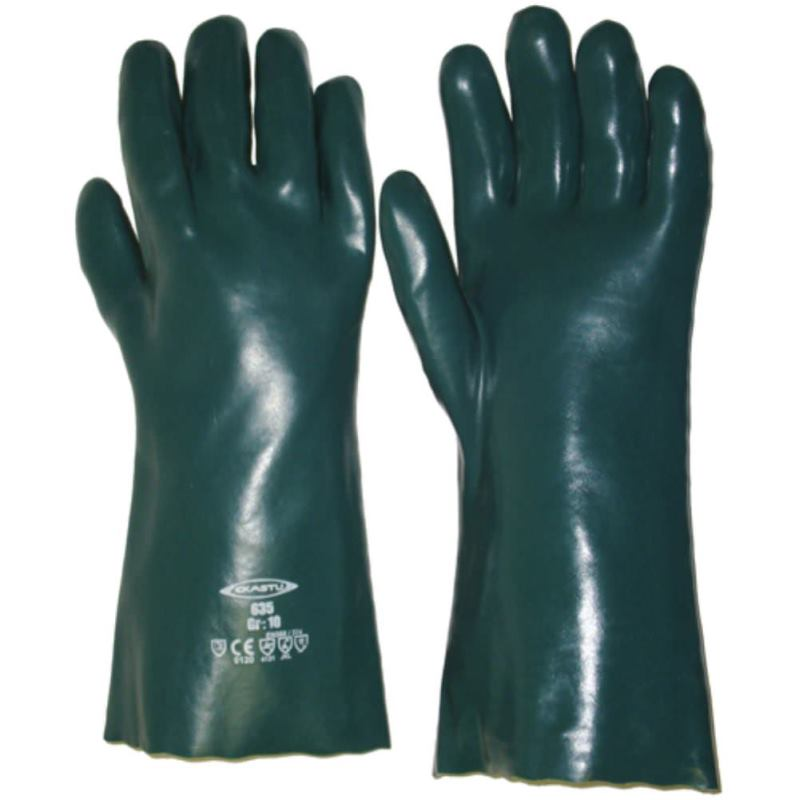 Chemikalien Schutzhandschuh Größe 10, Lange 35 cm
