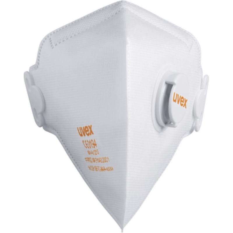 SilvAir Classic Atemschutz-Faltmaske FFP 2 Packung mit 15 Stück