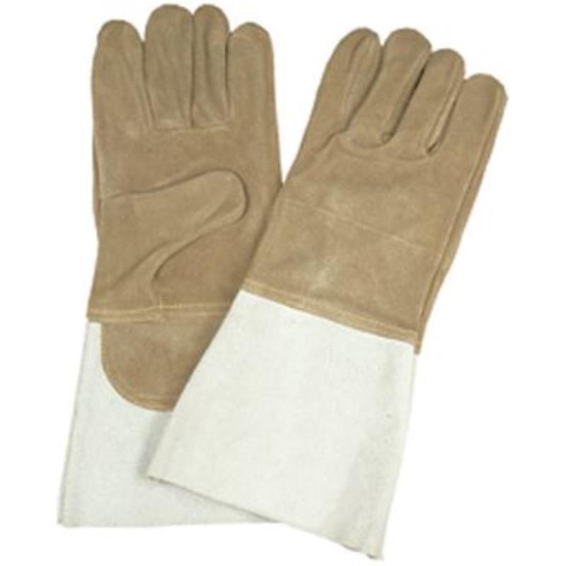 Schweißer-Schutzhandschuhe Sebatanleder Hitzebestä