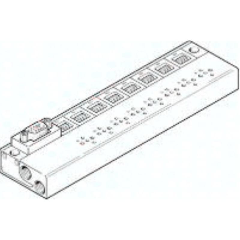 MHP1-PR6-3-PI-D9 197234 Anschlussblock