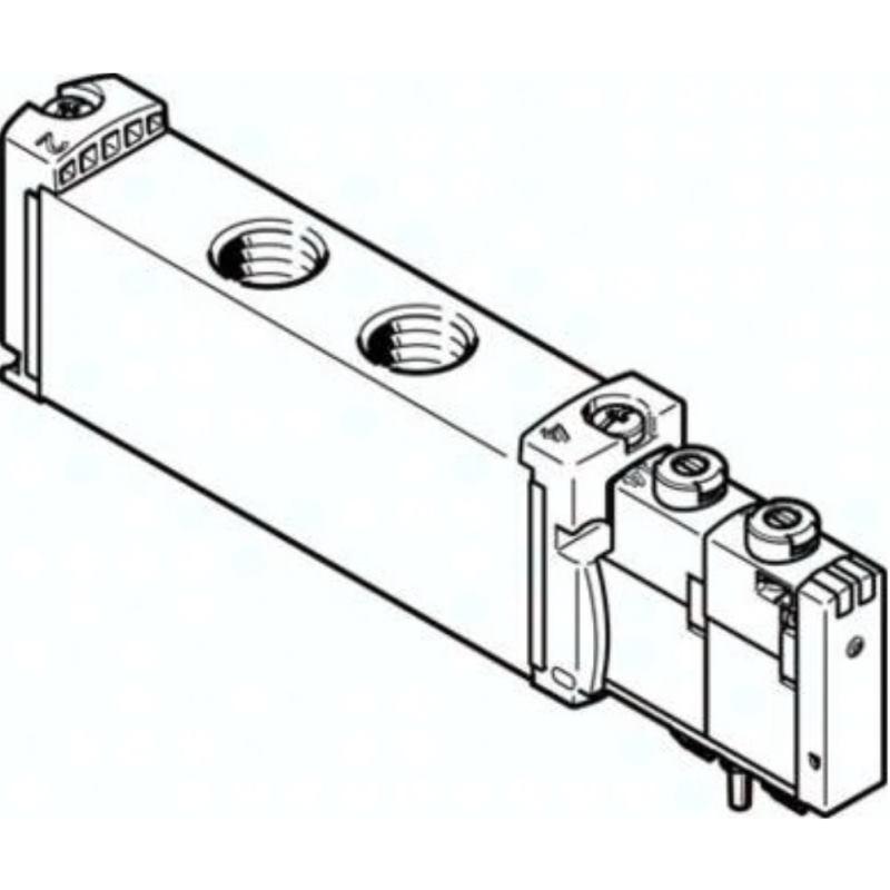 VUVG-S18-P53C-ZT-G14-1T1L 8004882 MAGNETVENTIL