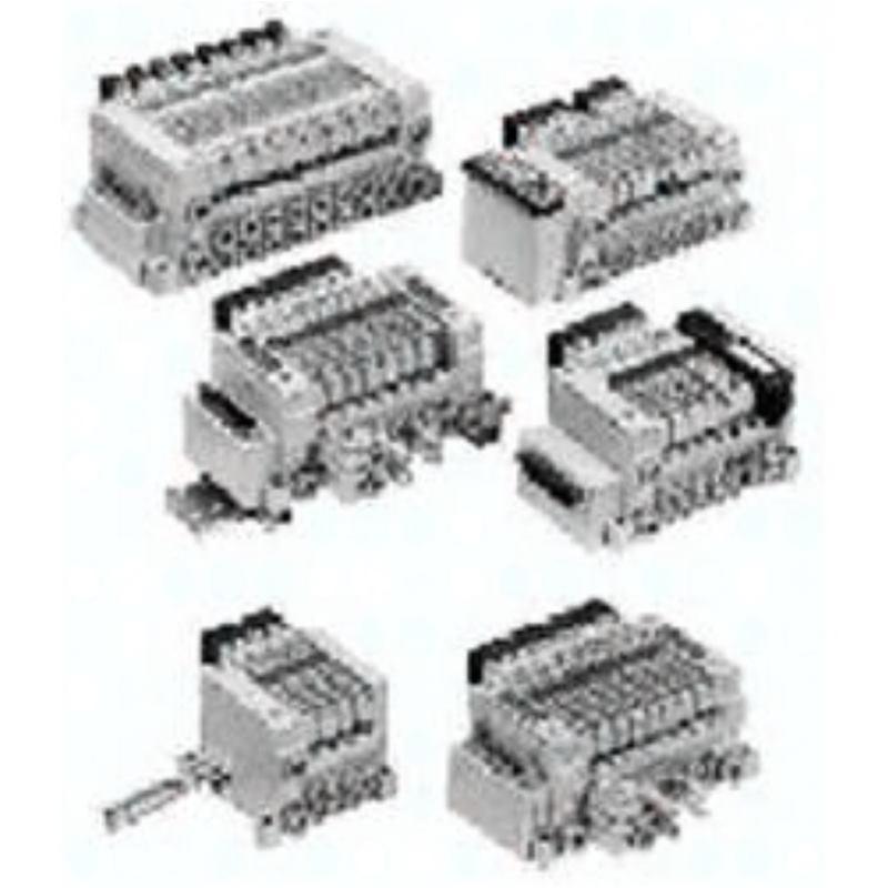VV5Q21-05CMS0 SMC Mehrfachanschlussplatte