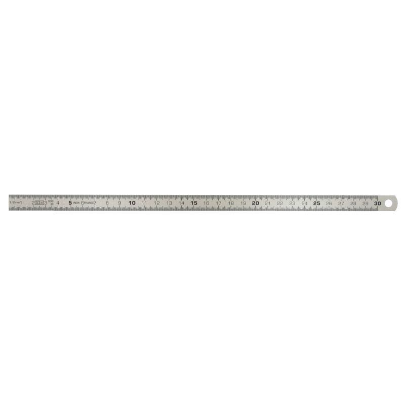 Flexibler Stahlmaßstab. 300mm 300.0104