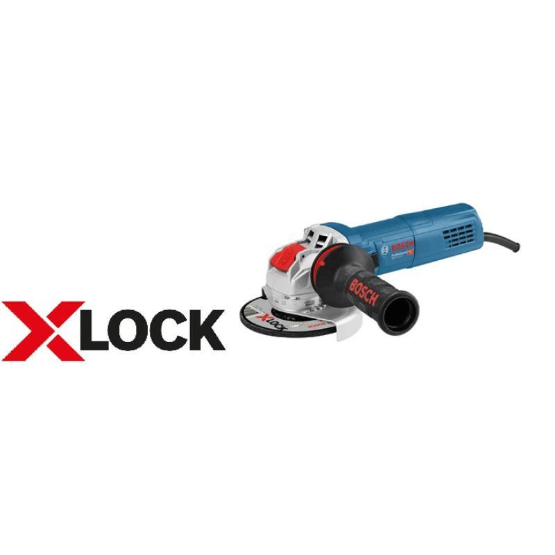 X-LOCK Winkelschleifer GWX 9-125 S | 900 Watt