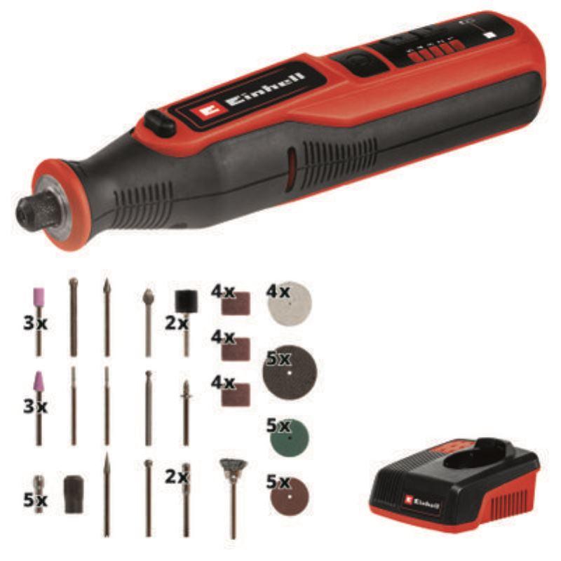 7,2V Akku-Schleif-/ Gravur-Werkzeug TE-MT 7,2 Li