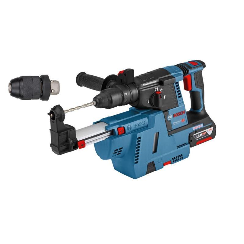 Akku-Schlagbohrhammer GBH 18V-26 F 2x 6.0Ah Akku+ Absaugung & L-BOXX
