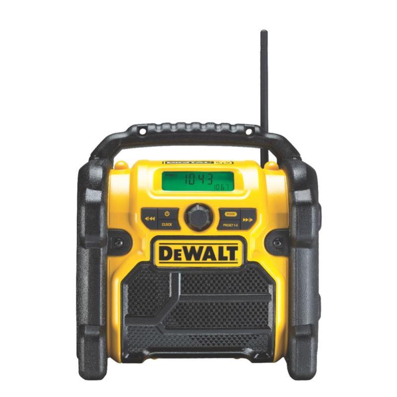 Baustellenradio 10.8 - 18V DAB+ Akku & Netzbetrieb DCR020