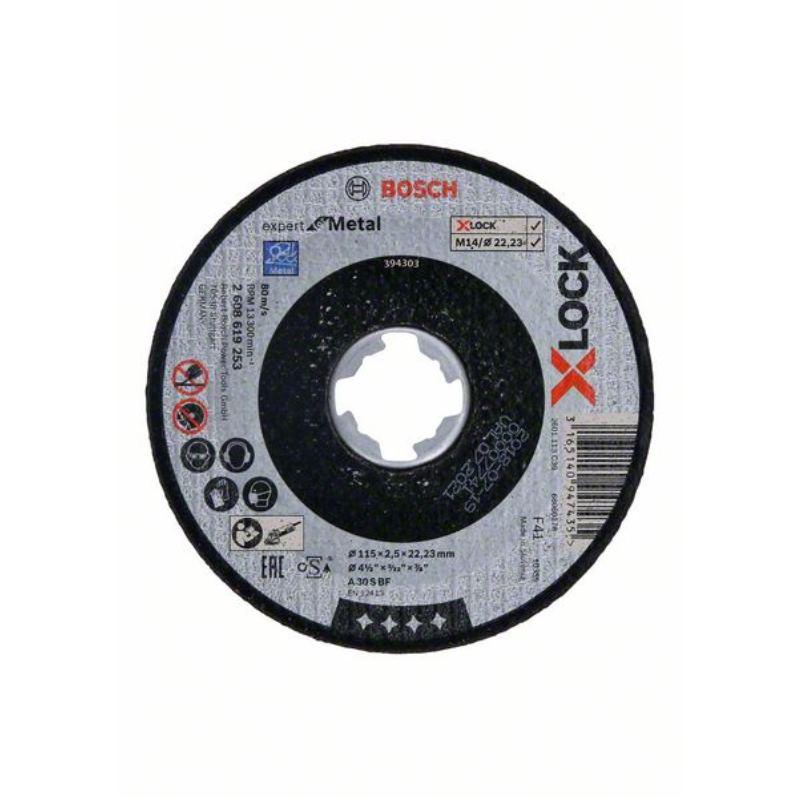 Ø 115mm X-LOCK Trennscheibe Expert for Metal A 30 S BF 25mm gerade | 1 Stück