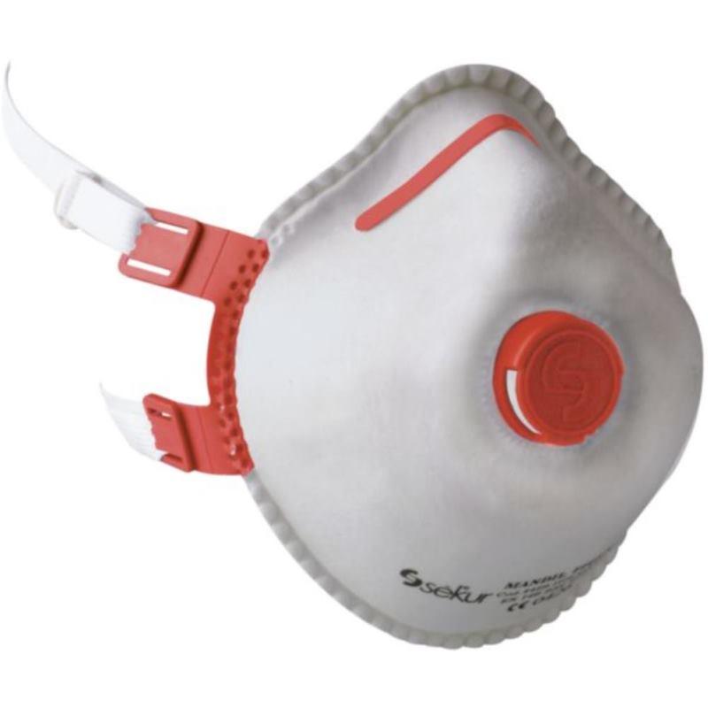 Atemschutzmaske Mandil FFP 3/Combi/V. mit Ventil (