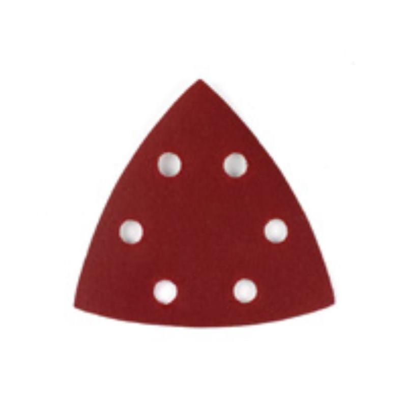 Dreieck-Schleifpapier-Klettfix 93 x 93 mm DT30906 Loch. Körnung 40
