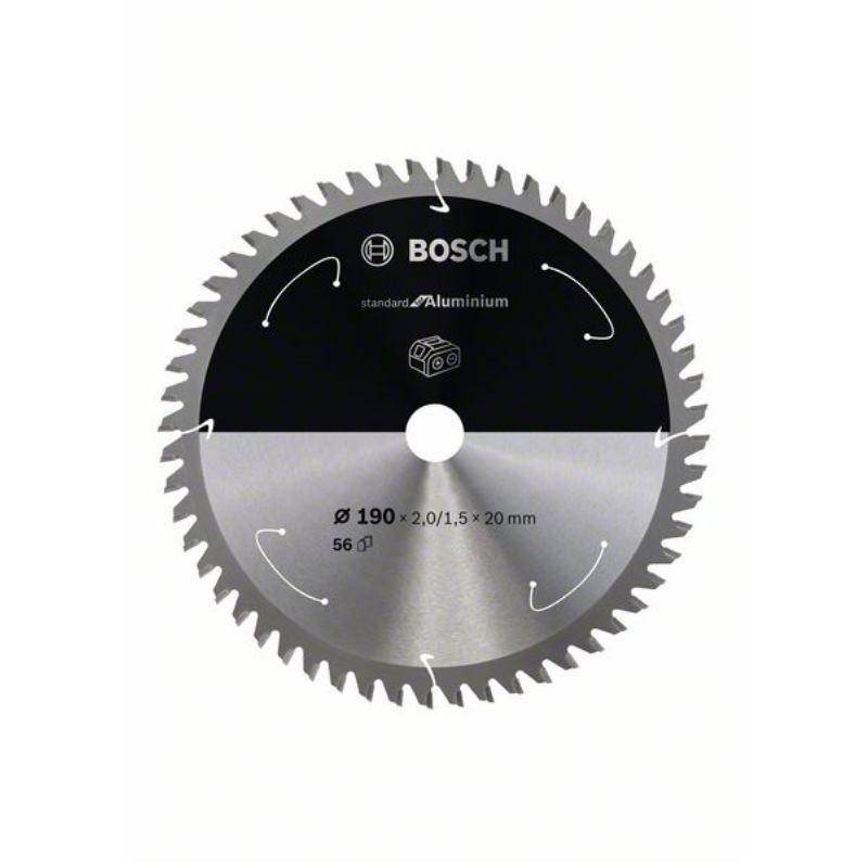 Kreissägeblatt Standard for Aluminium, 190x2/1.5x20, 56 Zähne