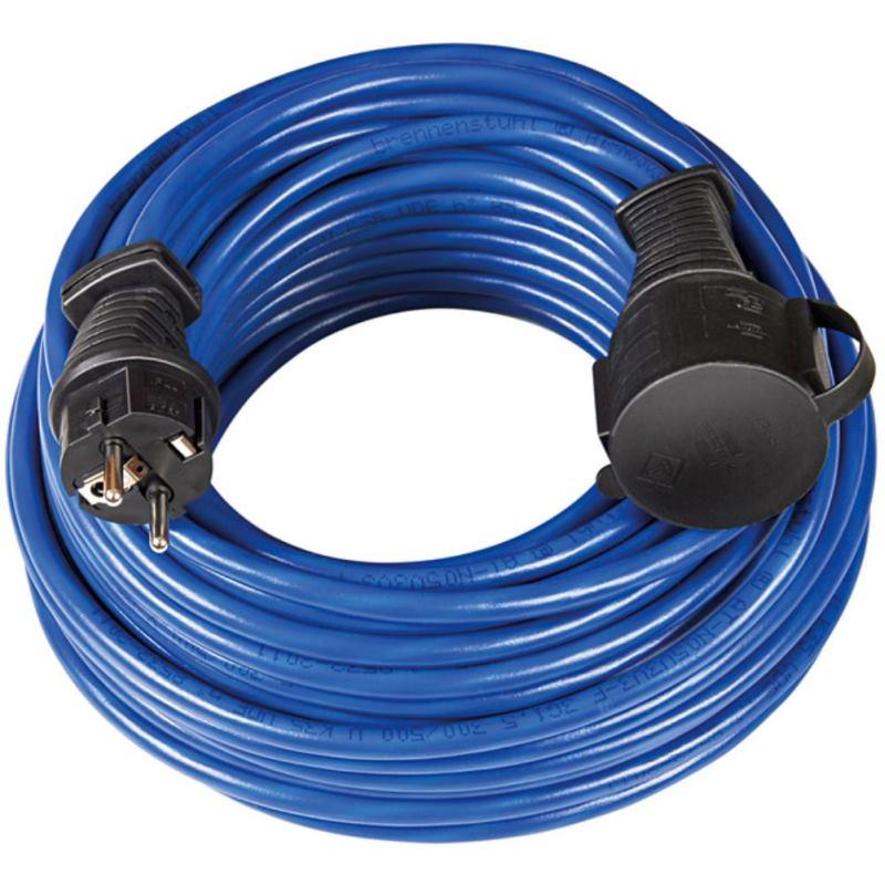 Bremaxx Verlängerungskabel IP44 10m blau AT-N05V3V