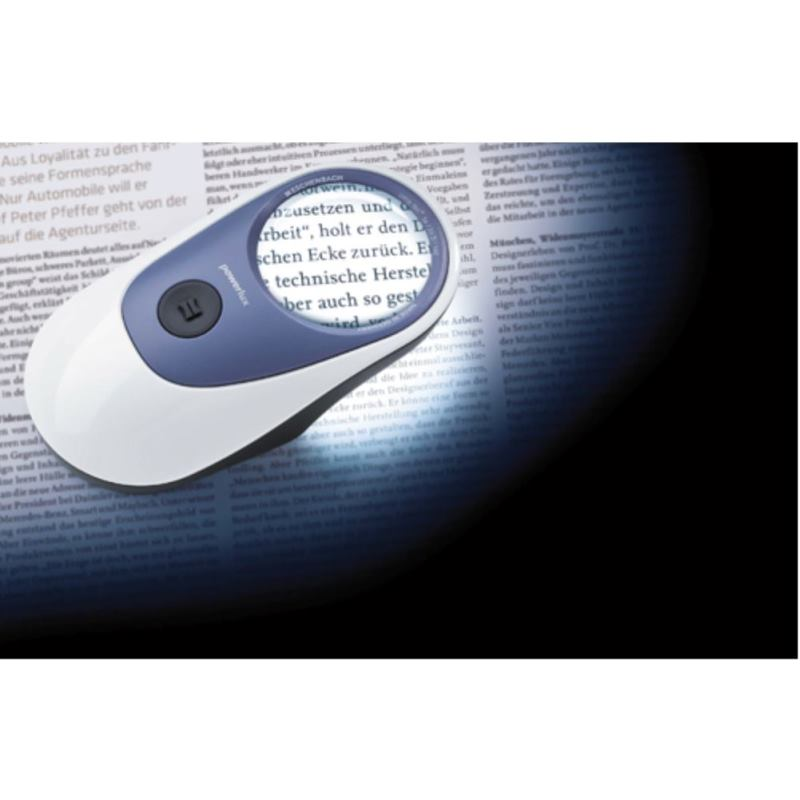 LED Leuchtlupe 7-fach Vergrößerung Powerlux 8000