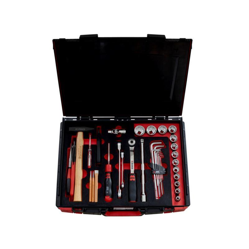 Werkzeugkoffer gefüllt mit Werkzeugen 37-tlg. im System-Koffer