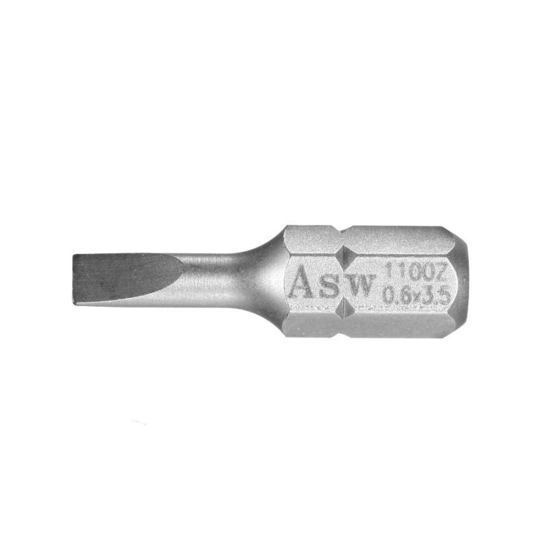 """Bit-Einsatz; 1/4"""" ASKT Form C 6,3 - Schlitz 1,6"""