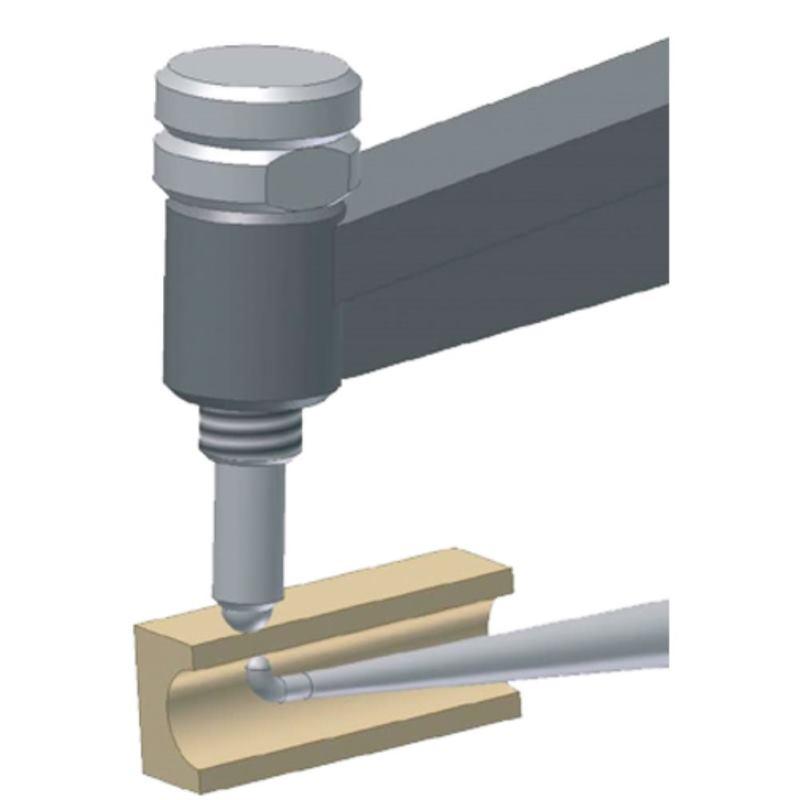 Schnelltaster POCO 2R 0 10mm 0.1mm Skw. f.Rohrwan