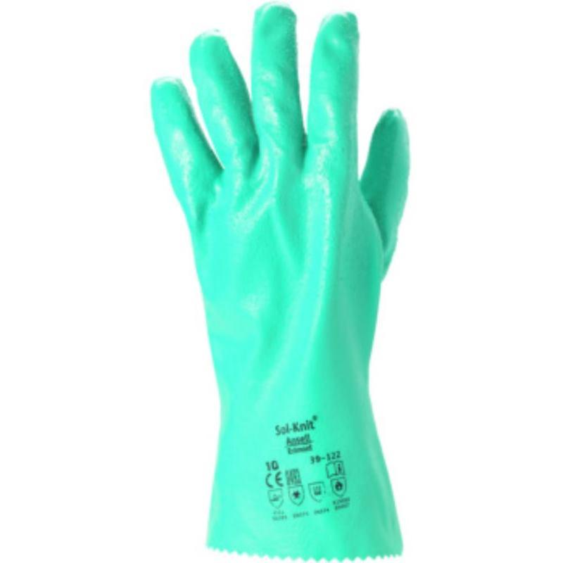 Chemie-Schutzhandschuh Gr. 9 . Typ SOL-KNIT 39-122