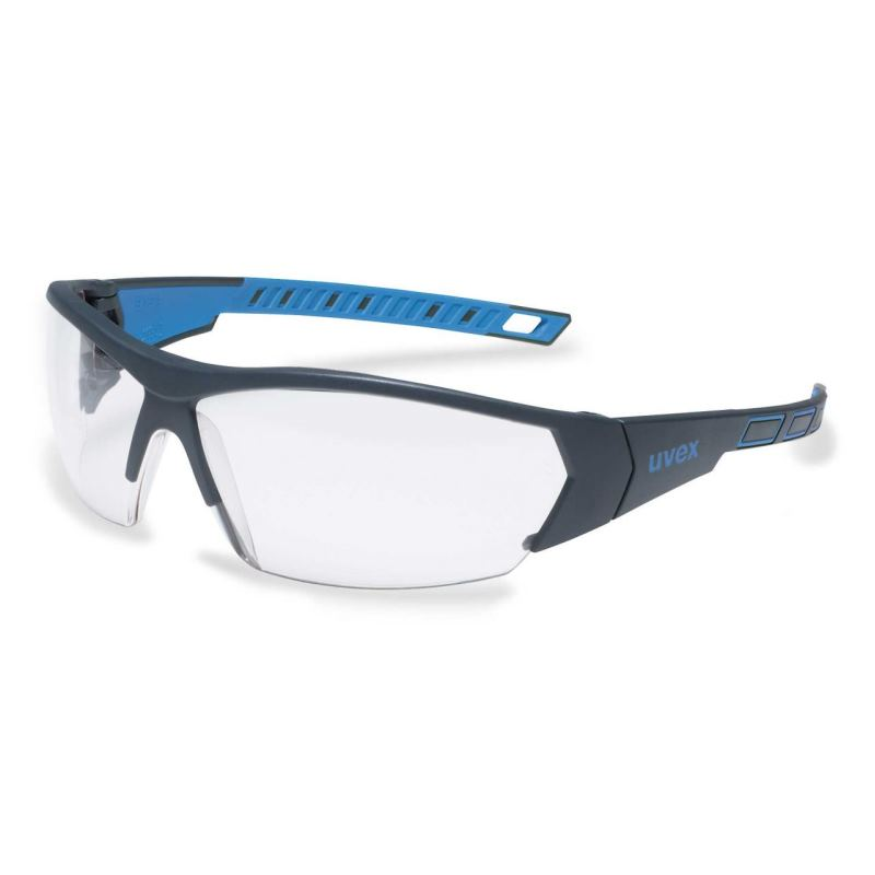 Schutzbrille iworks fbl. sv exc. anthrazit/blau