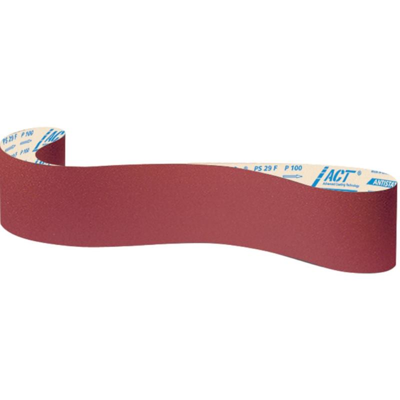 Schleifpapier-Band, PS 29 F ACT Antistatic , Abm.: 150x3000 mm,Korn: 120