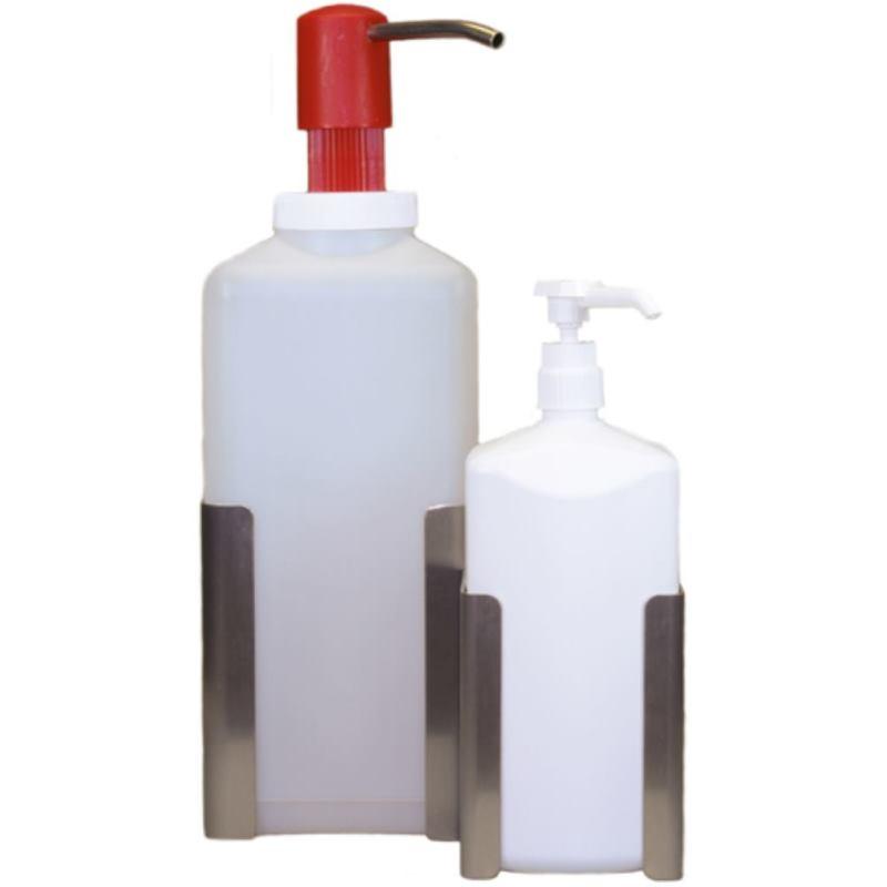 PR-Wandspender Edelstahl für 1-Liter-Flaschen