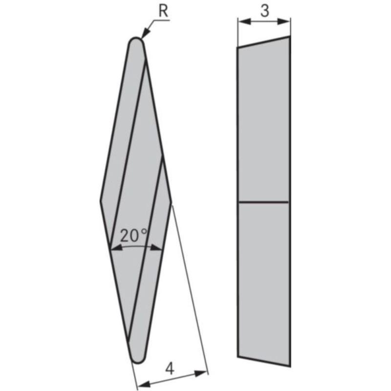 Kopierdrehplatte XBGR 100302 SPR OHC7620
