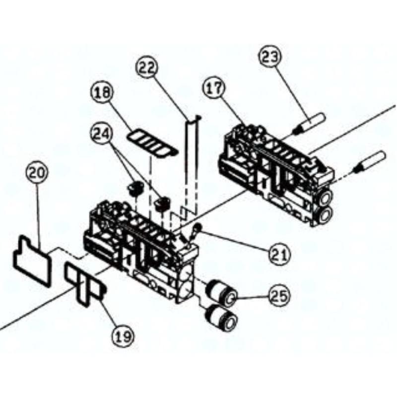 VVQ2000W-9-5 SMC Stecker