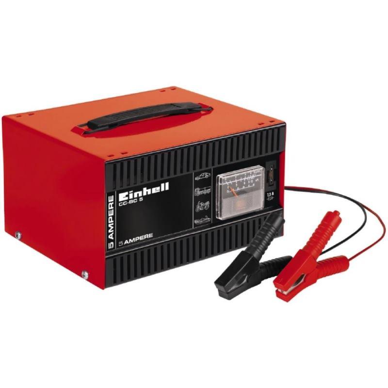 Autobatterie Ladegerät KFZ Motorrad CC-BC 5