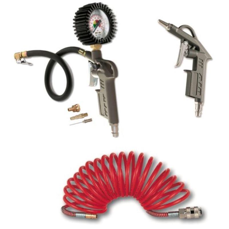 Druckluft Werkzeug-Set DL-WZ-Set 3-teilig