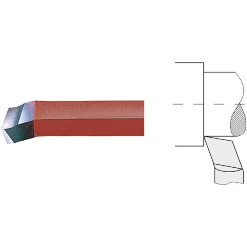 Drehmeißel außen HSSE 10x10 mm Eckdrehmeißel