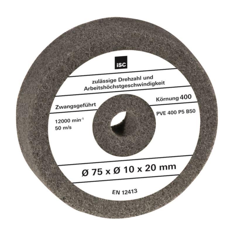 Schleifstein für Doppelschleifer 75x10x20mm Korn 400