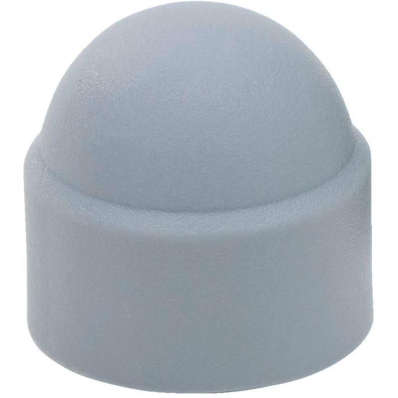 Kunststoff-Abdeckkappe für Sechskantkopf Grau M5 1000 Stück