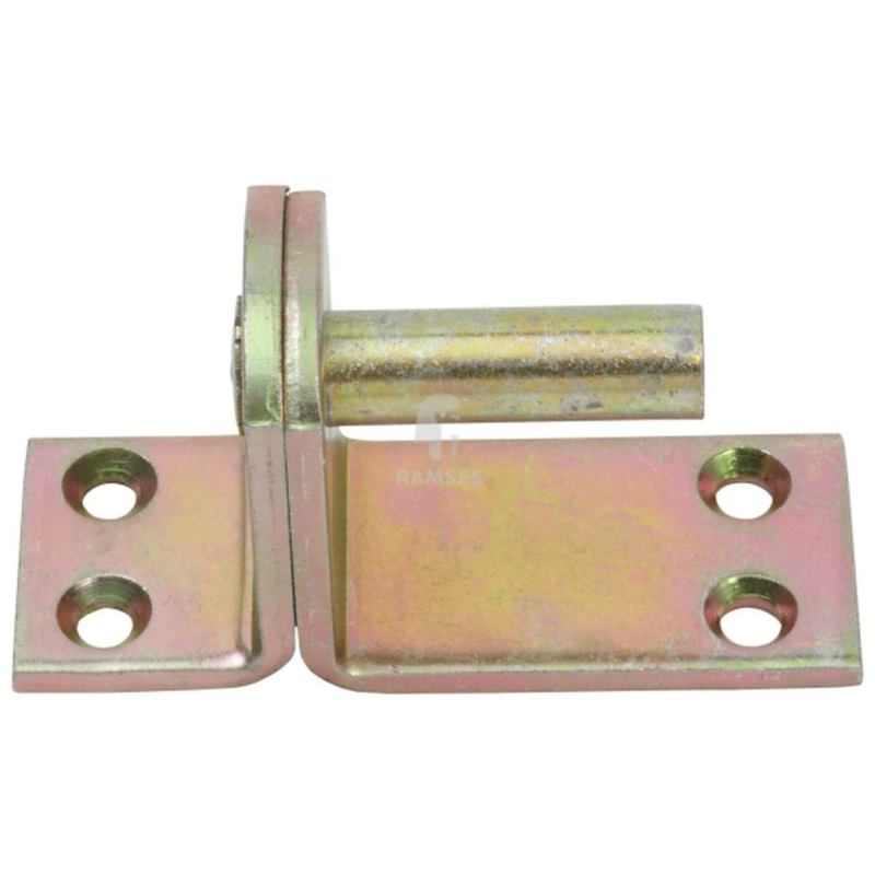 Kloben auf Platte Form II 16 mm Stahl verzinkt 1Stück