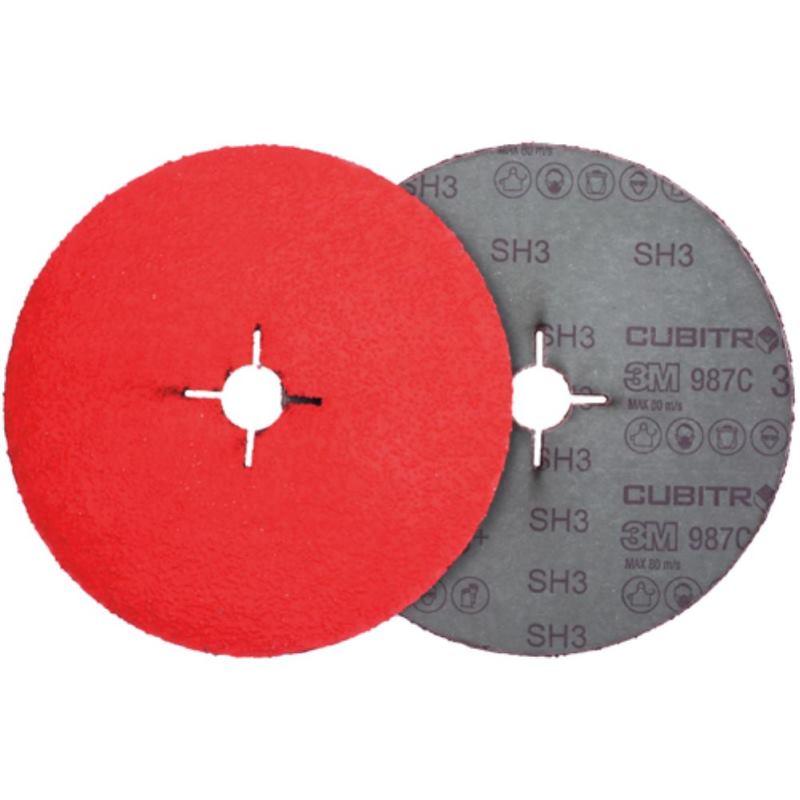 982C Cubitron II Fiberscheibe Korn P80+ Ø 125mm