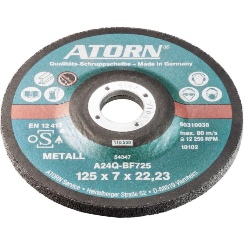 Schruppscheibe 230 x 7.0 x 22.2 mm hart. für Metalle 76100230