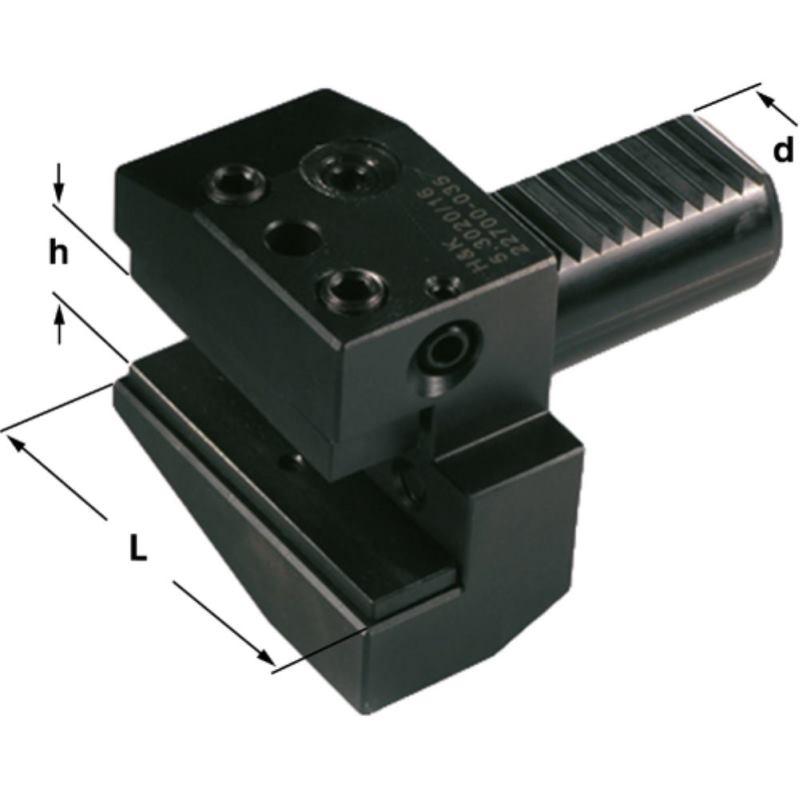 Radialhalter DIN 69880 Schaft 30 mm Größe 16/20 F