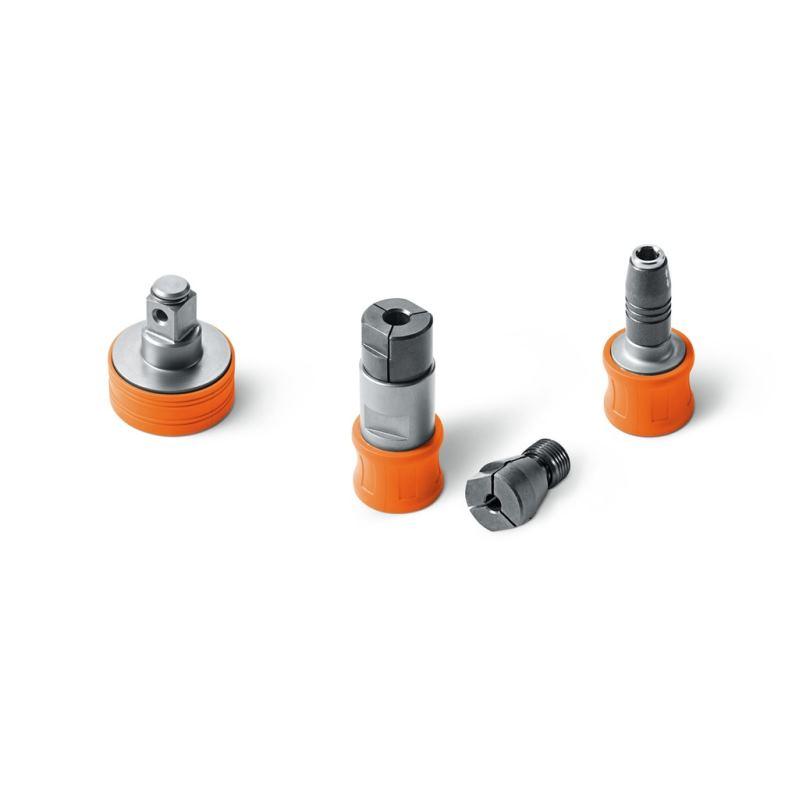 QuickIN Zubehör Metall-Set für Akku-Bohrschrauber