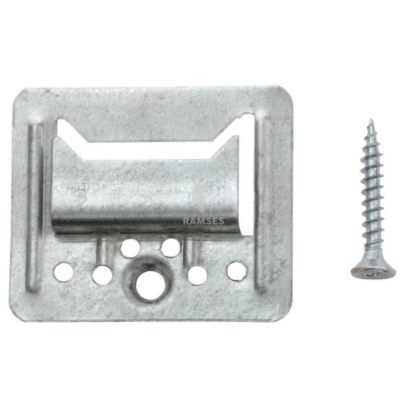 Profilholzkrallen extra stark inklusive Schrauben3 mm Stahl verzinkt 100 Stück