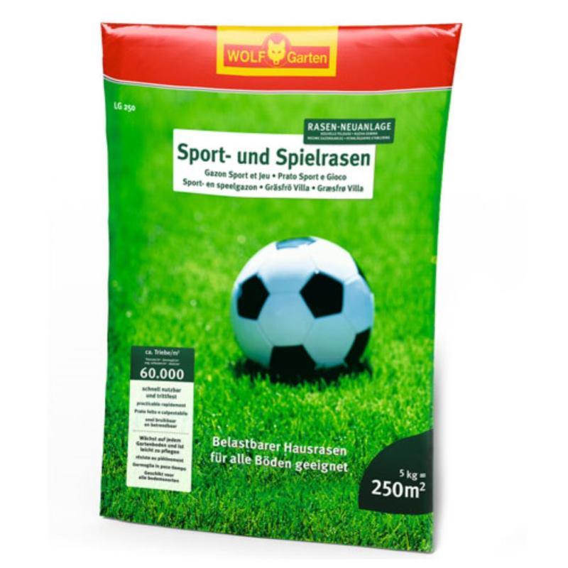 Sport & Spielrasen LG 250 | 5 kg | für 250 m²