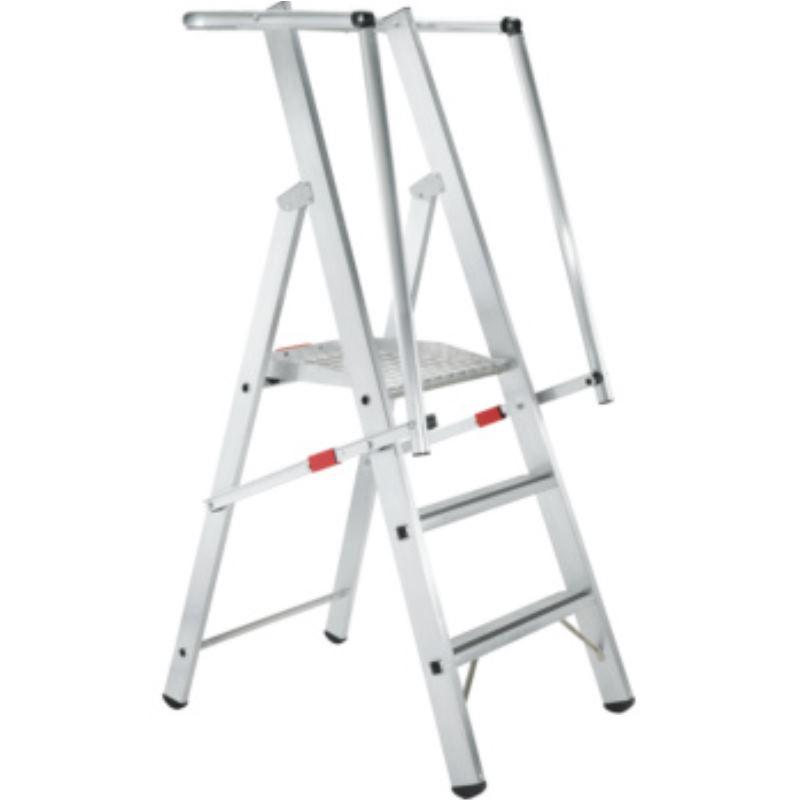 Stufenleiter Z600 ZAP mit großer Plattform 3 Stufen Safer Step 41681