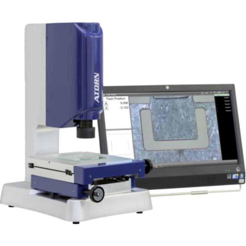 Videomessmikroskop Tischfläche 100x100 mm mi
