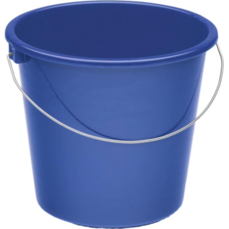 Haushaltseimer Kunststoff blau 5 l