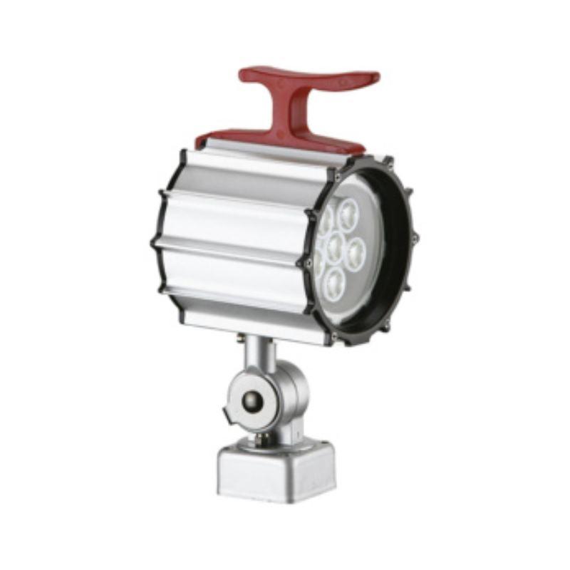 LED-Maschinenleuchte 6x1 W, Einbauversion Schutzart IP 65 Anschluss 24 V AC/DC