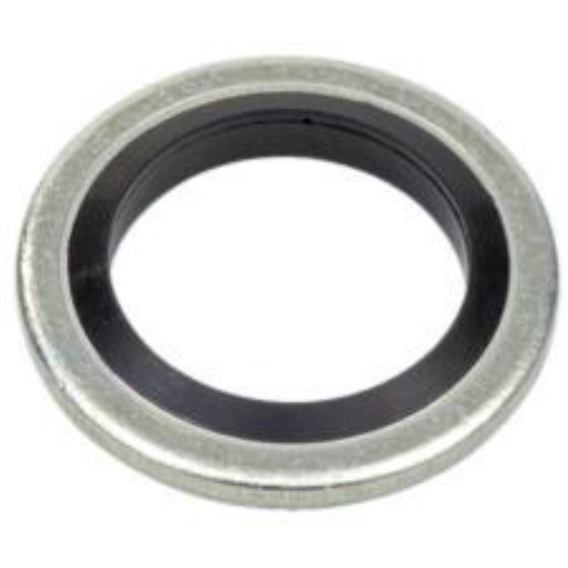 Schraubendichtung Stahl zn nicht selbstzentrierend 11.8 x 19.0 x 1.5 100 Stück