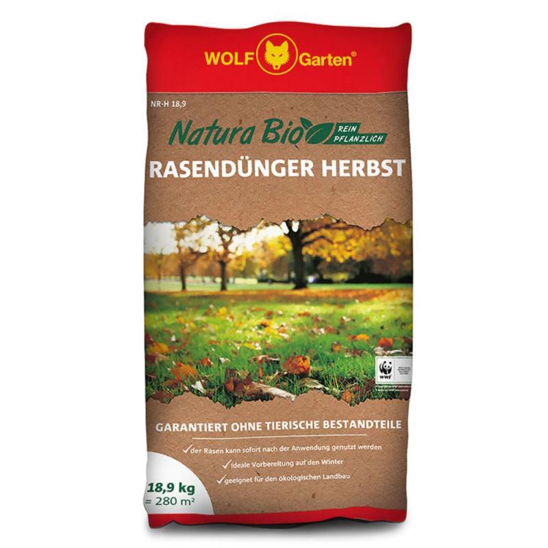 NATURA Bio Herbst Rasendünger NR-H 18.9 | 18.9kg | für 280m²
