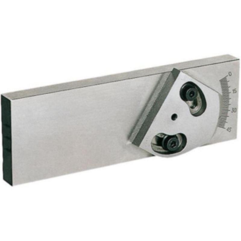 Universal-Aufsatzbacke mit Winkelvoreinstellung 125 mm