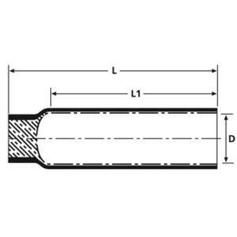 PEC-6/2 Warmschrumpfkappe