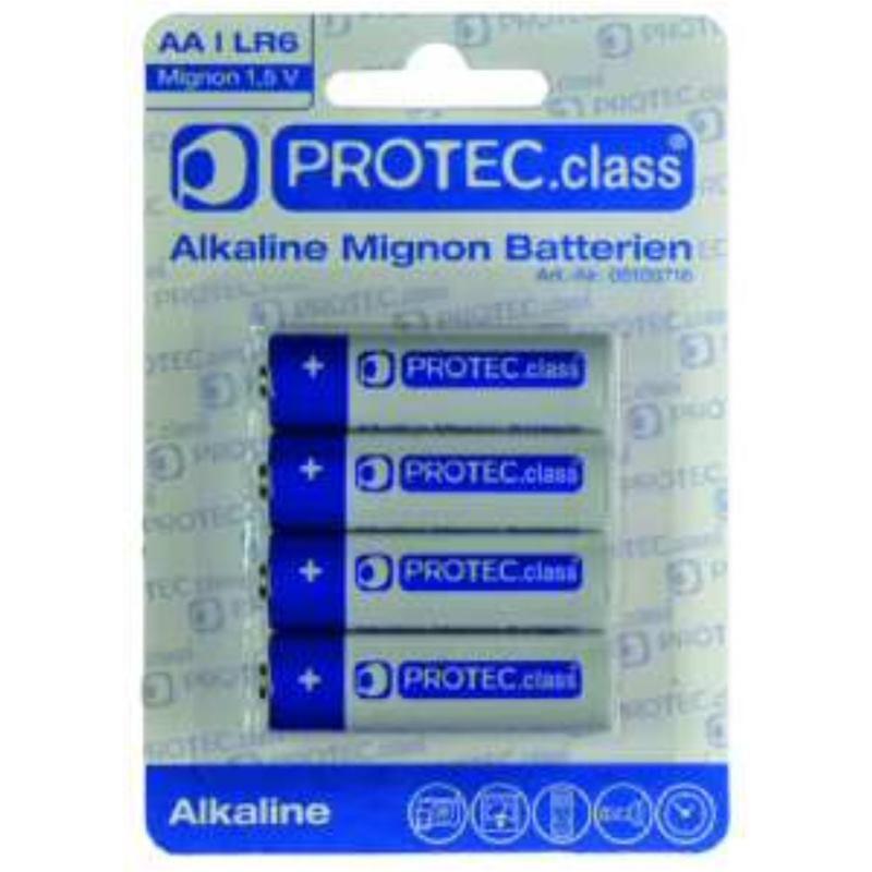 PBAT AA Mignon Batterien 4er Blister
